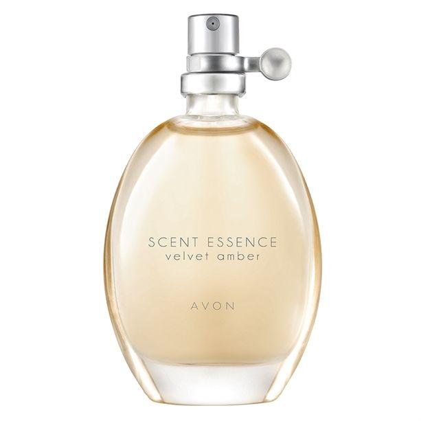 Scent Essence Velvet Amber Eau De Toilette - 30ml (brochure 01 2018) price £4.50 www.avon.uk.com/store/dundee-stephen #perfume #avon #cosmetics #fragrance