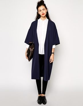 Str. S // Enlarge Monki Tailored Kimono