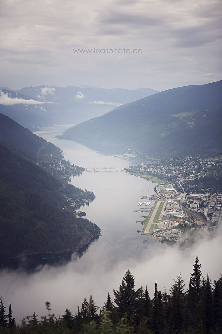 "Nelson, BC saw this town on ""The Art of Flight"" (Netflix it) Summer or Winter visit"