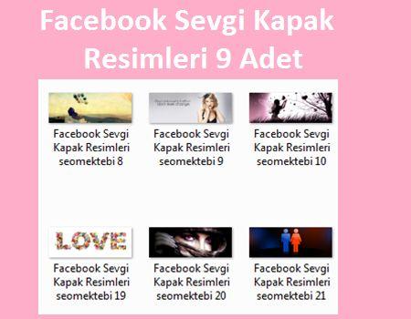 Facebook Sevgi Kapak Resimleri 22 Adet