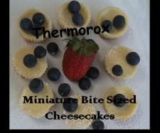 Bite Size Miniature Cheesecakes | Official Thermomix Recipe Community