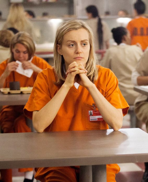 And the 2014 Best Actress Emmy Nominees Are ... - Taylor Schilling. It's a big year for Schilling, as this is her first-ever Emmy nomination for her role as Piper Chapman on Orange Is the New Black! #InStyle