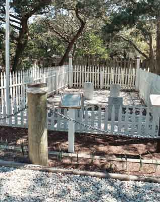 British Cemetery on Ocracoke Island, NC is technically 2,290 square feet of British Territory.