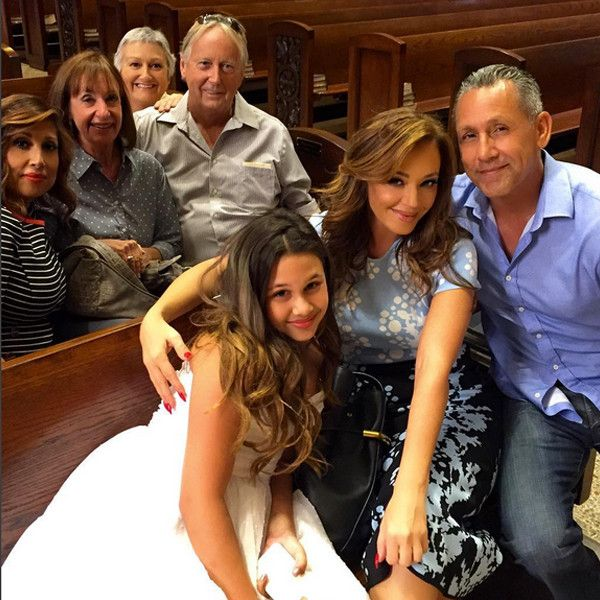 "Leah Remini Celebrates ""New Beginnings"" at Daughter Sofia's Baptism After Leaving Church of Scientology  Leah Remini, Instagram"