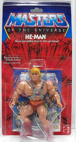 He-Man - Most Powerful Man In The Universe! This is specifically why my new figures stay in their package