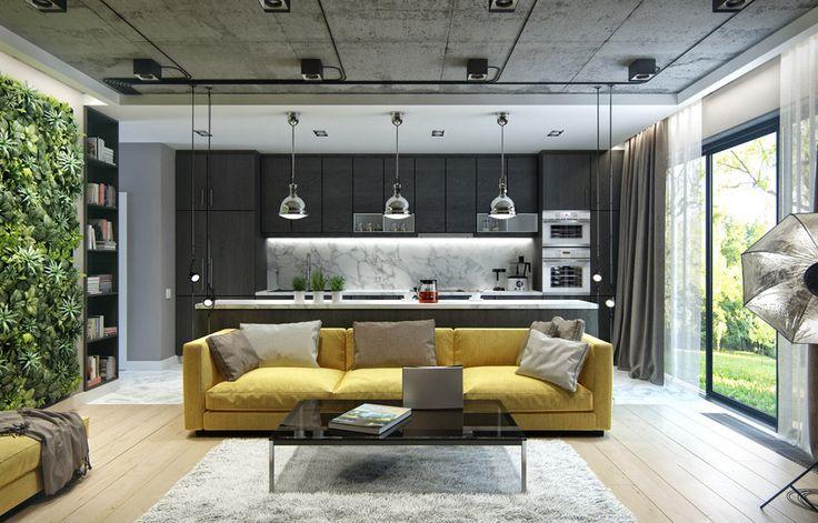 City Loft - ALNO. Современные кухни: дизайн и эргономика | PINWIN - конкурсы для архитекторов, дизайнеров, декораторов