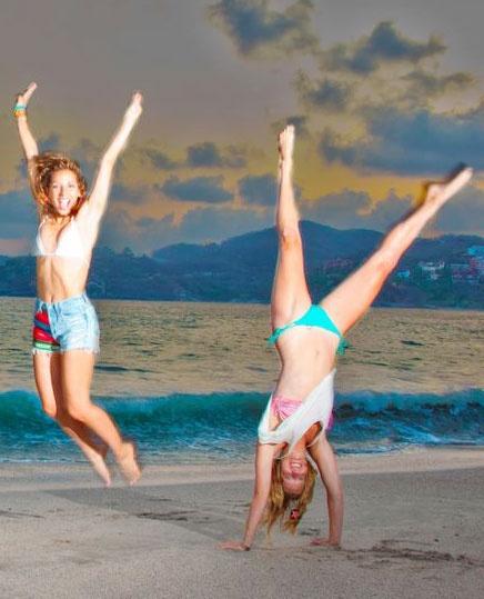 Summer Fun with Heather Morris Vanessa Lengies