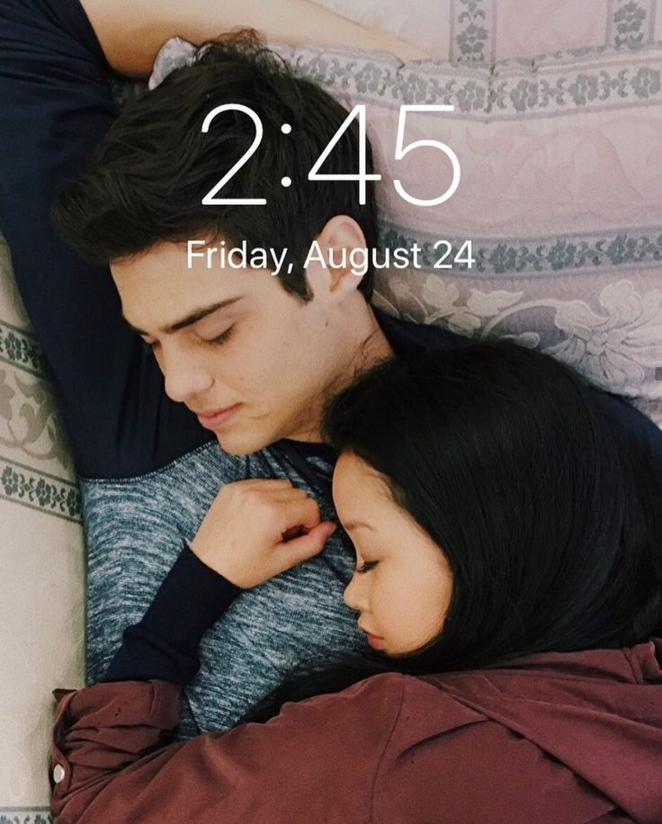 Noah Centineo and Lana Condor from To All The Boys I've Loved Before