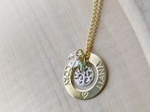 Collana Personalizzata Albero della Vita placcata