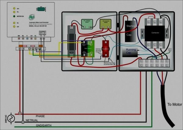 Water Well Control Box Wiring Diagram Submersible Pump Submersible Electrical Circuit Diagram