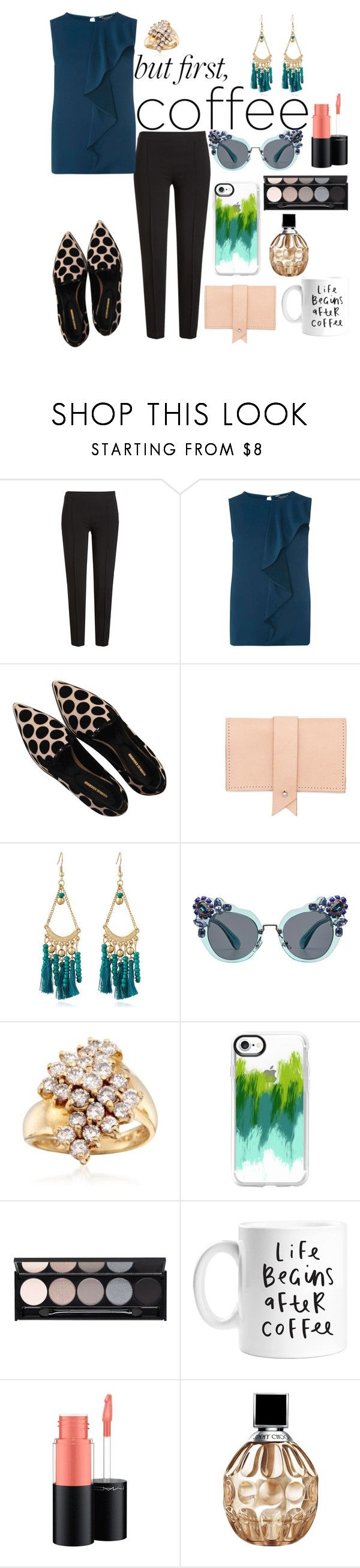 """""""Untitled #699"""" by mamatoodie-1 ❤ liked on Polyvore featuring Boutique Moschino, Dorothy Perkins, Nicholas Kirkwood, Dora, Miu Miu, Ross-Simons, Casetify, Witchery, MAC Cosmetics and Jimmy Choo"""