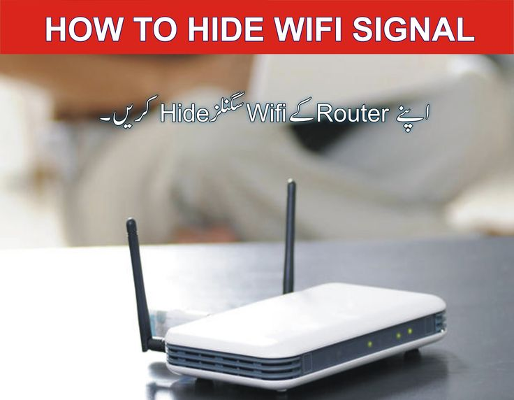 how to #hide #wifi #signal