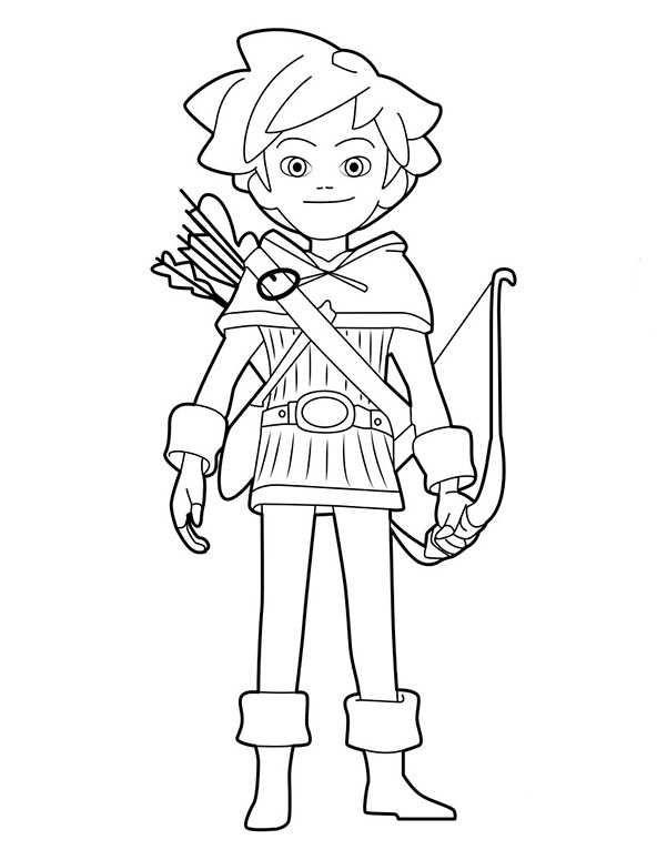 Robin Hood Kika Ausmalbilder Ausmalbilder Robin hood