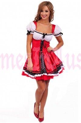 Oktoberfest Wench Beer maid costume