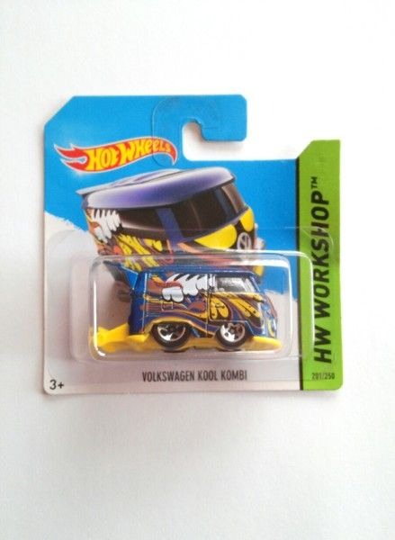 ☼ Hot Wheels Volkswagen Kool Kombi 2014 ☼