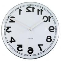 Horloge et coucou design Horloge à l'envers par Karlsson