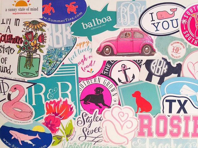 How To Get Free Preppy Stickers