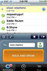 Heytell app.. LOVING THIS.. for Iphone and Droid