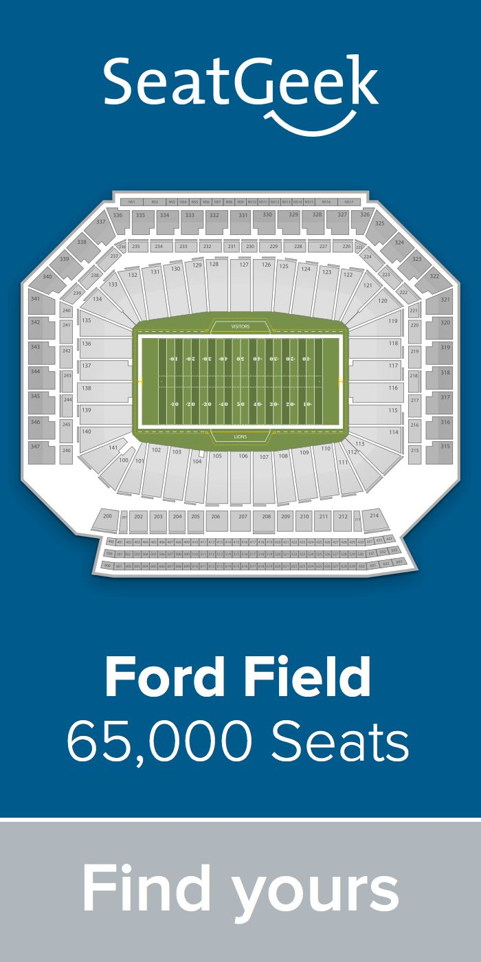 The best deals for Lions tickets are on SeatGeek!