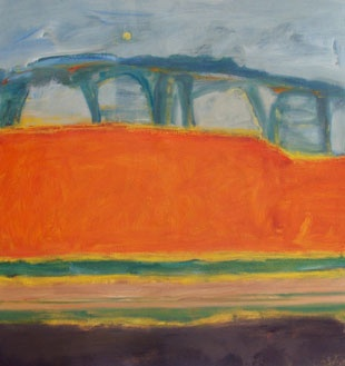 """""""The Old Camel Road"""" by Jo Bertini (Aus.)"""