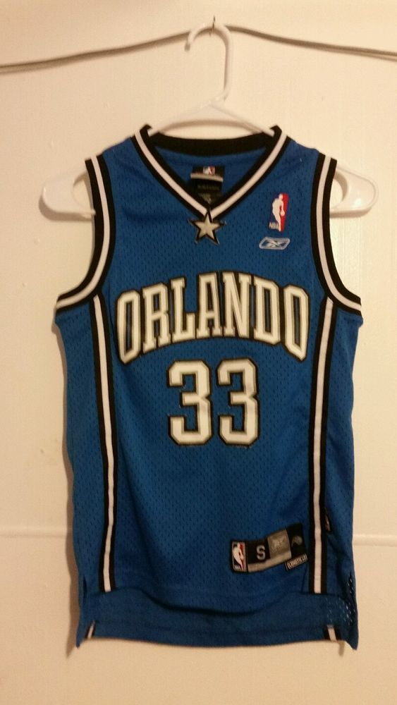 GRANT HILL Orlando Magic REEBOK NBA Kids small jersey length +2 #Reebok #OrlandoMagic