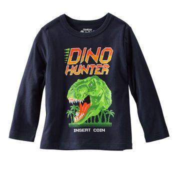 OshKosh Originals Graphic - Cazador de Dinos c/ t-rex 100% algodón jersey