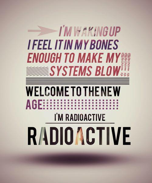 Imagine Dragons - Radioactive lyrics Really missing @Angel Kittiyachavalit Kittiyachavalit Lewis <33