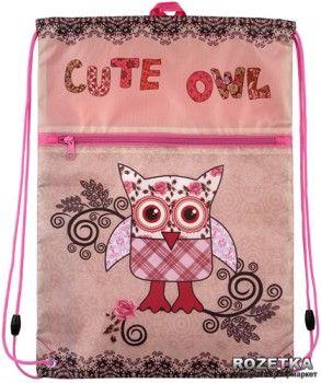 Сумка для обуви Kite 601 Cute Owls для девочек (K15-601-2K)