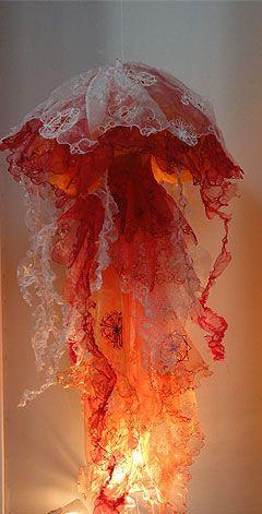 Nur einen kurzen Blick auf das Foto und ich dachte, es wäre eine Medusa-Qualle …