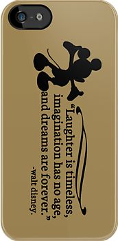 """Luv this one! """"Walt Disney Quote"""" iPhone & iPod Cases by stevebluey 