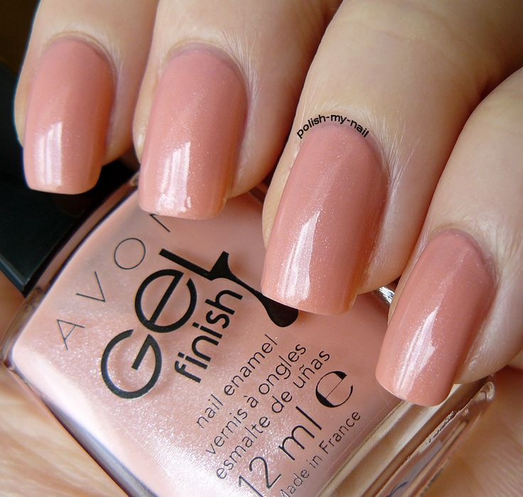 Avon Pink Nail Polish: Avon Gel Finish Dazzle Pink -