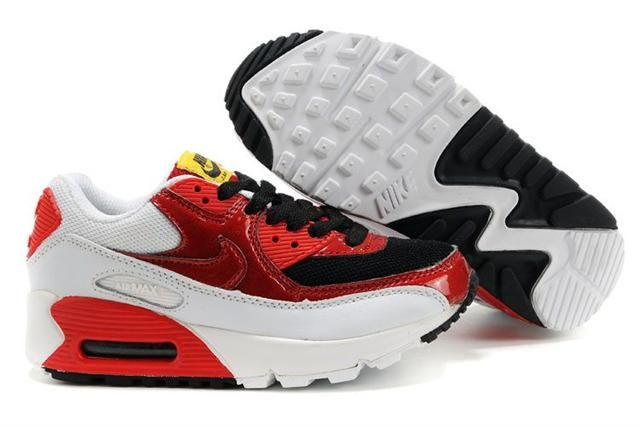 http://www.bigkidsjordanshoes.com/kids-nike-air-max-90-varsity-red-black-p-176.html KIDS NIKE AIR MAX 90 VARSITY RED BLACK Only $61.40 , Free Shipping!