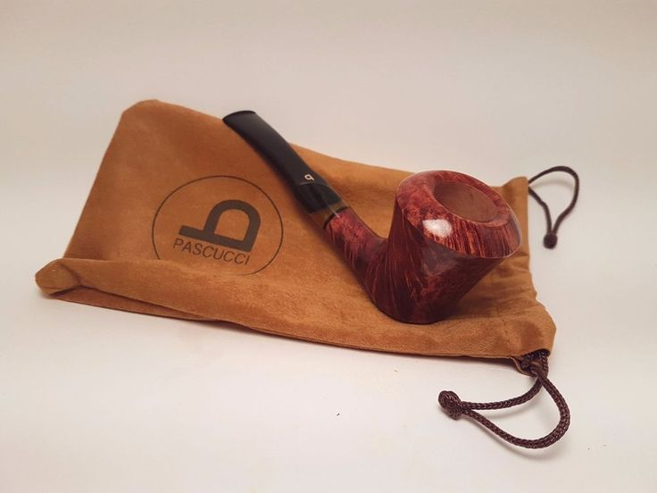 PIPA ITALIANA MARRONE LISCIA PASCUCCI, SMOKING BRIAR PIPE, PFEIFE