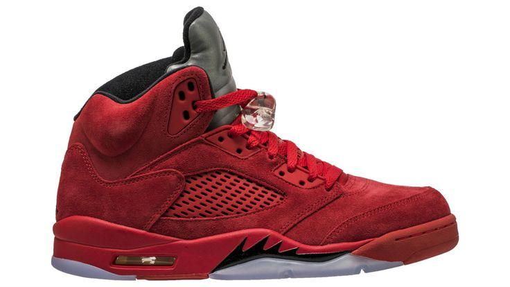 The 'Red Suede' Air Jordan 5 Retro Is Less Than a Month Away