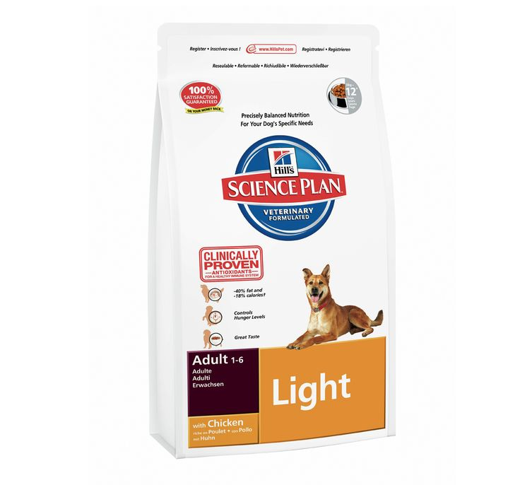 Hills Science Plan Adult Light Chicken - 3 KG. Buy Online Hills Dog Food At http://www.dogspot.in/hills/