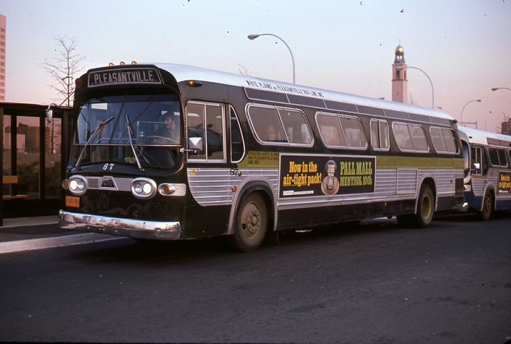 White Plains  and Pleasantville  Bus Lines  GMC  Fishbowl