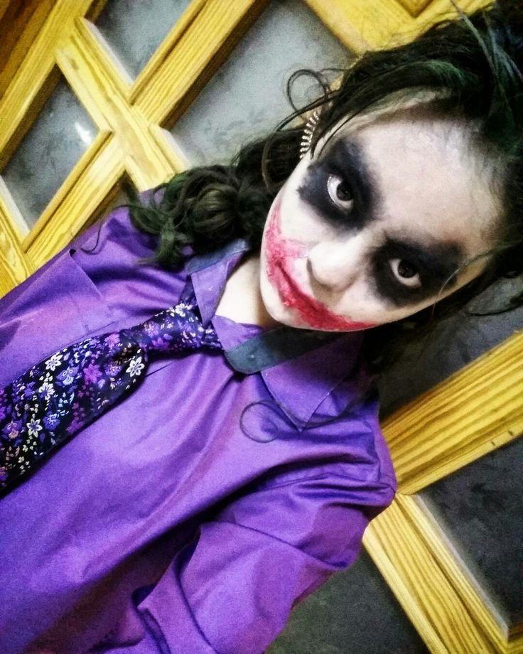 Girl/Lady version of Heath Ledger's The Joker 🃏 Joker Makeup 💚