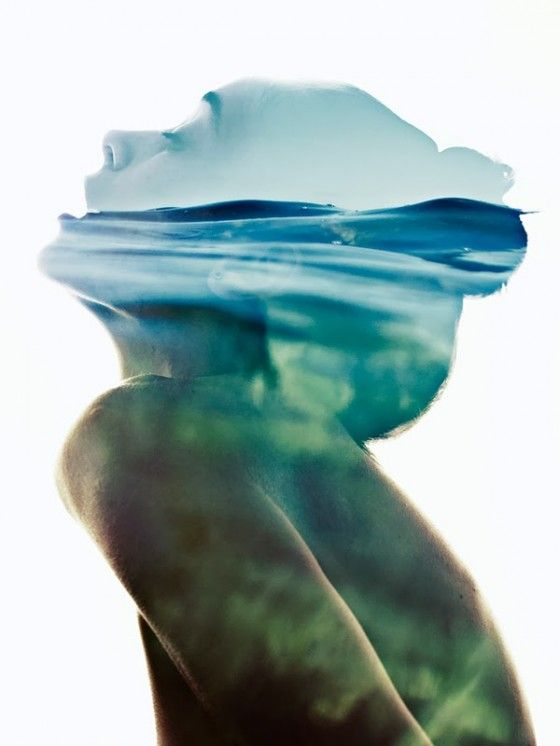 Under the waves. Sonya