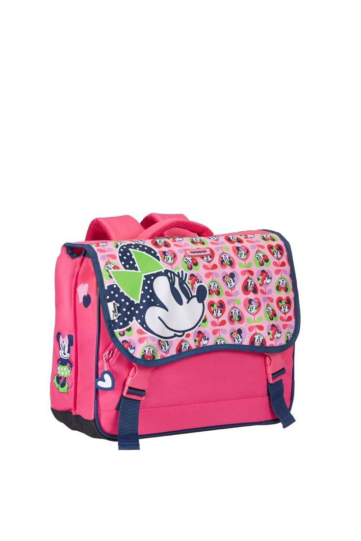 Disney Wonder - Minnie Mouse Schoolbag #Disney #Samsonite #MinnieMouse #Minnie #Mouse #Travel #Kids #School #Schoolbag #MySamsonite #ByYourSide #Flowers