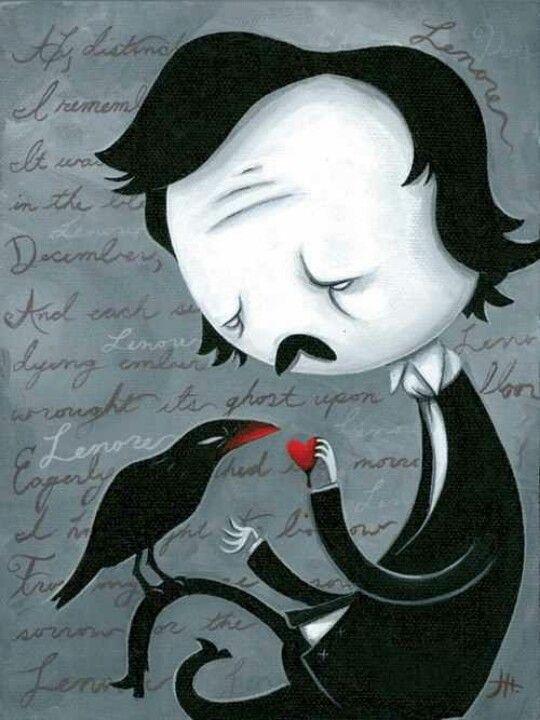 Edgar Allen Poe art