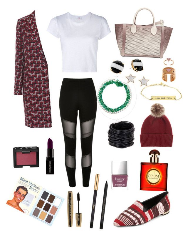"""""""Untitled #13"""" by moodxxx on Polyvore featuring Maria Francesca Pepe, Tara Jarmon, Aurélie Bidermann, RE/DONE, Steve Madden, Helen Moore, Burberry, Givenchy, River Island and Saachi"""