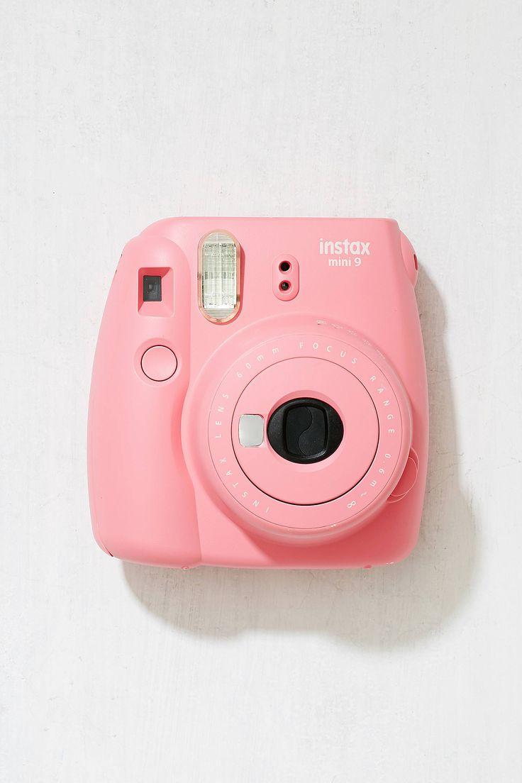 Slide View: 1: Fujifilm - Appareil photo instantané Instax Mini 9 - Rose flamant