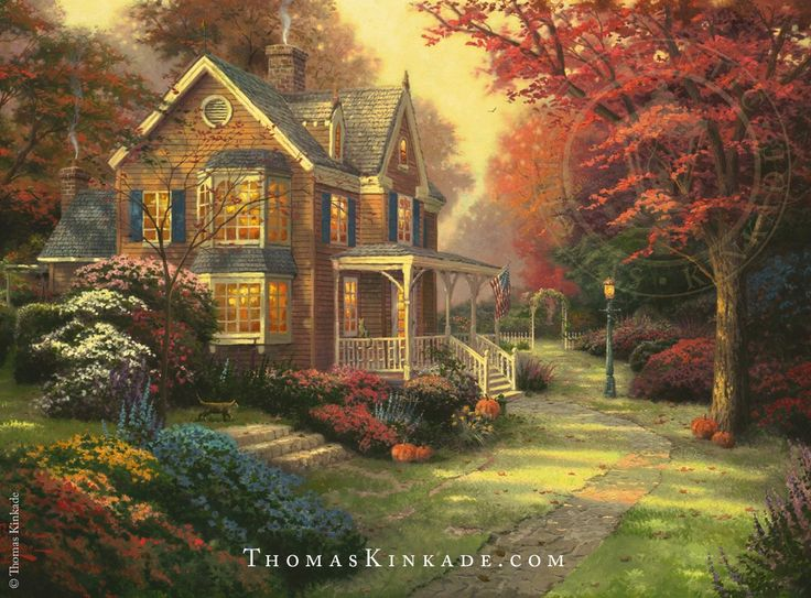 17 best images about thomas kinkade art on pinterest for Best christmas towns on east coast