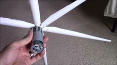 This video series shows the build of a very small wind generator that costs…