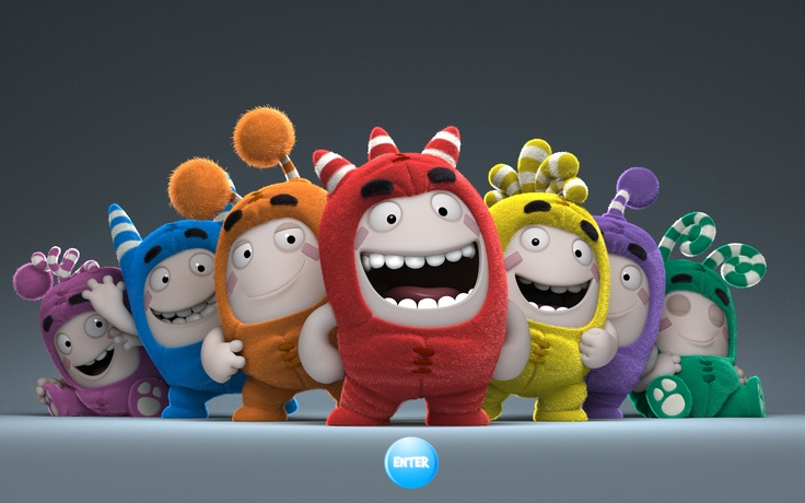 My job Oddbods