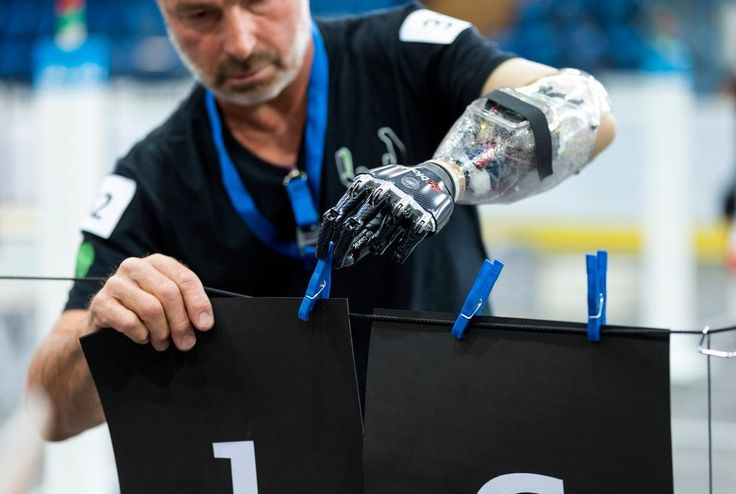 """The """"Cybathlon"""" will show what happens when humans and machines collaborate"""