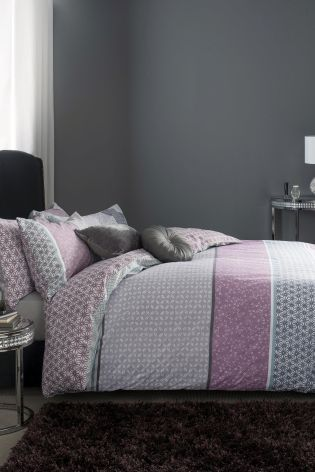 Buy 2 Pack Mauve Origami Bed Set from the Next UK online shop