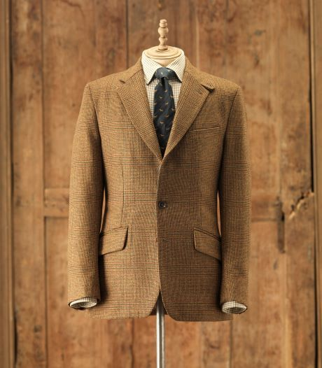 Mens Classic Action Back Tweed Jacket. Purdey. | Living In ...