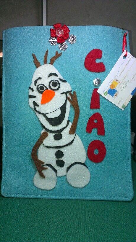 Olaf porta tablet