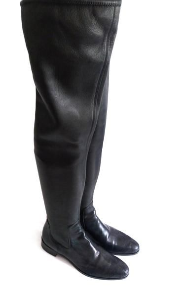 PRADA Stiefel Boots Schuhe Shoes Over The Knee Size 40